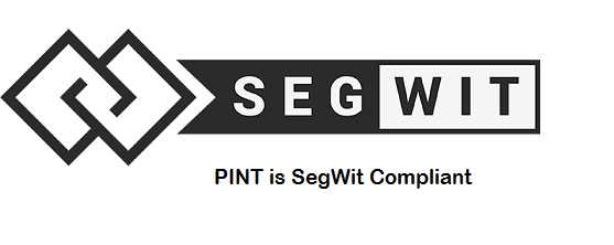 PINT Wallet Upgraded with Full Support of SegWit